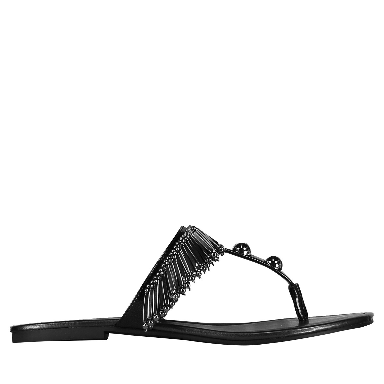 Afbeelding van Katy Perry KP0852 dames slippers zwart