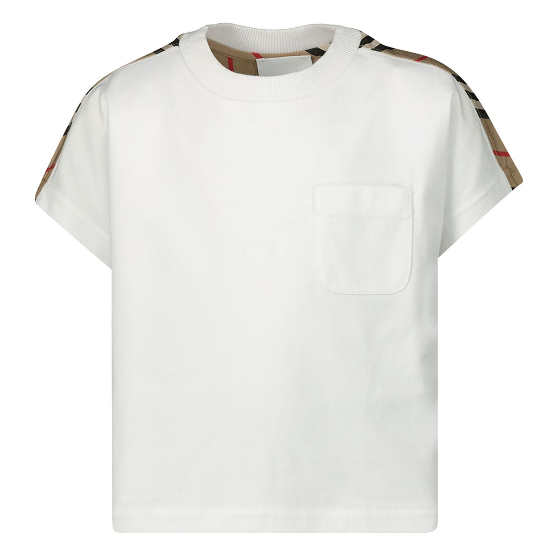 Afbeelding van Burberry 8020157 kinder t-shirt wit