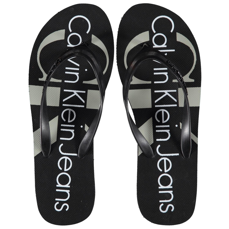 Afbeelding van Calvin Klein TESSE dames slippers zwart
