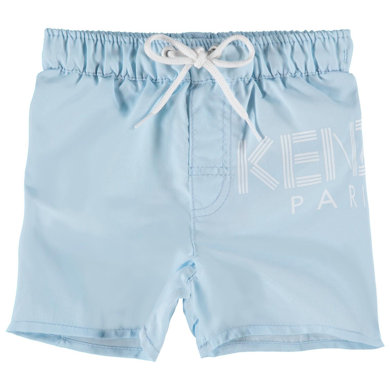 Afbeelding van Kenzo KN38517 baby badkleding licht blauw