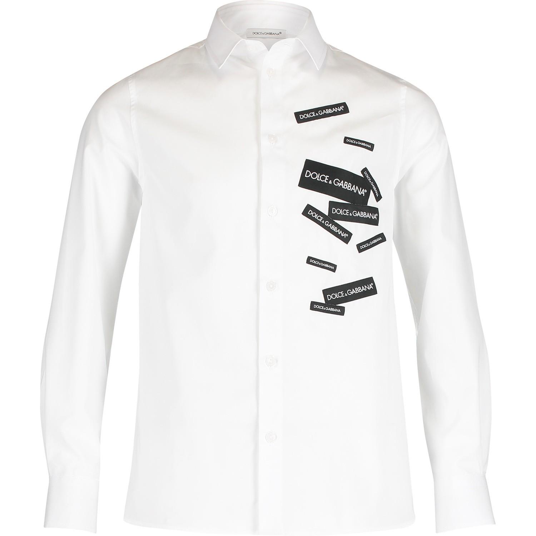 Overhemd Wit.Dolce Gabbana L42s77 Jongens Kinder Overhemd Wit Bij Coccinelle
