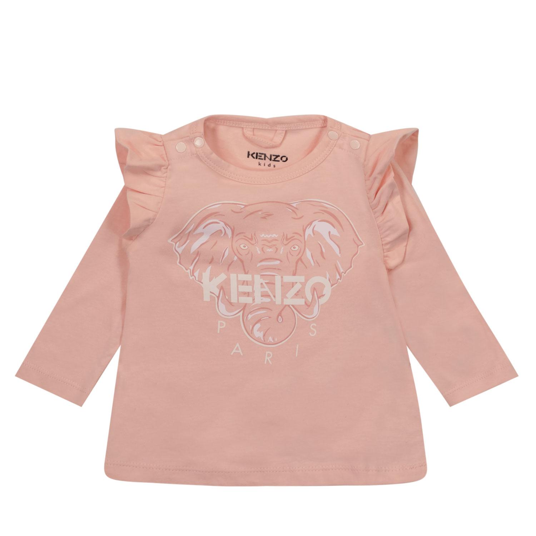 Afbeelding van Kenzo K95018 baby t-shirt roze