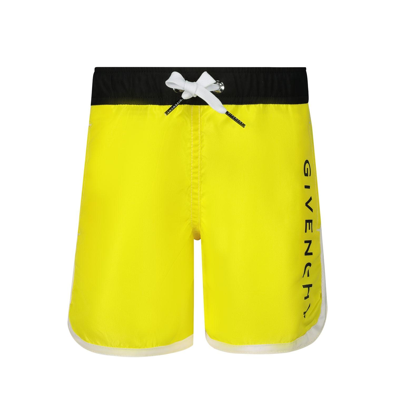 Afbeelding van Givenchy H00023 baby badkleding geel