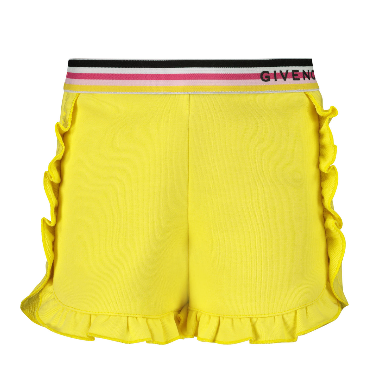 Afbeelding van Givenchy H04101 baby shorts geel