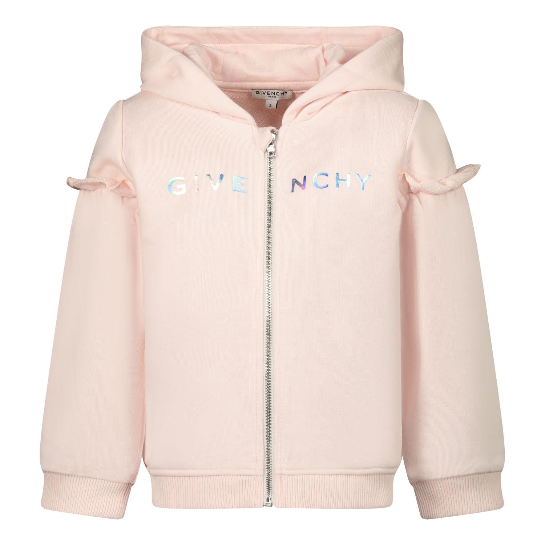 Afbeelding van Givenchy H05165 baby vest licht roze