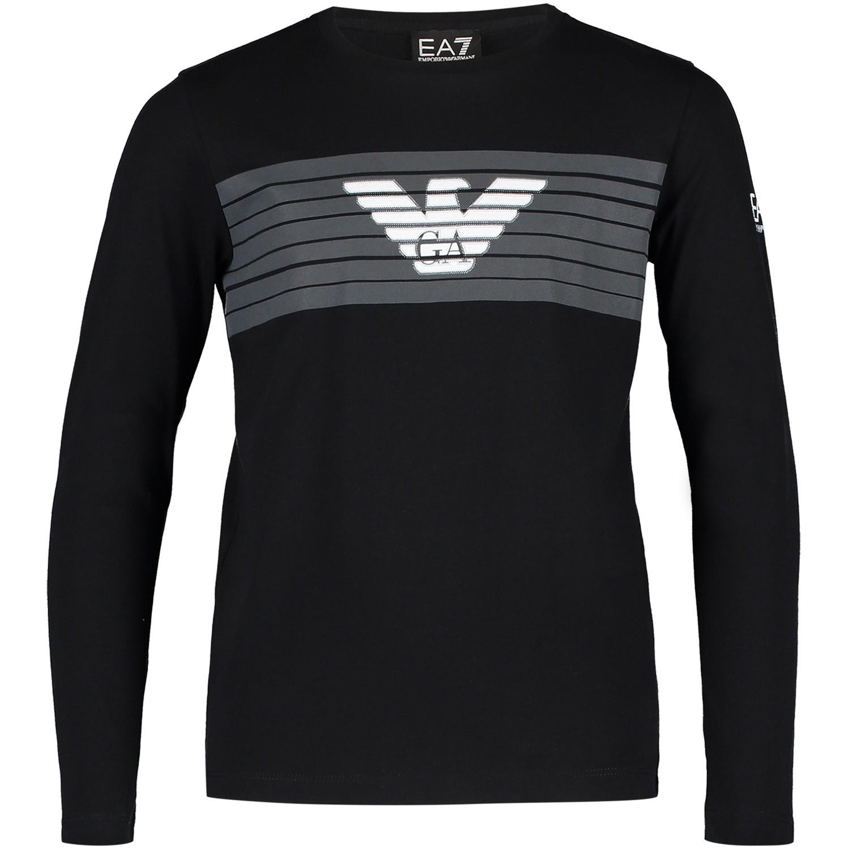 Afbeelding van EA7 6ZBT55 kinder t-shirt zwart