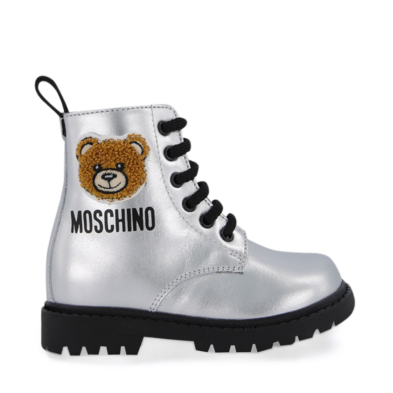 Afbeelding van Moschino 65617 kinderlaarzen zilver