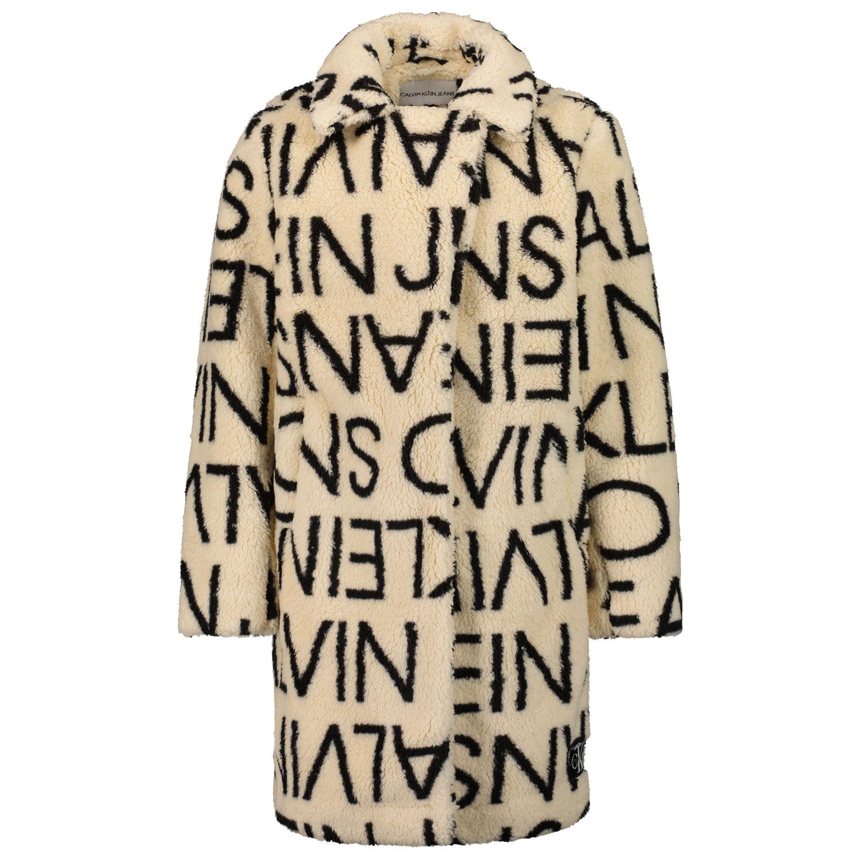 Afbeelding van Calvin Klein IG0IG01169 kinderjas off white