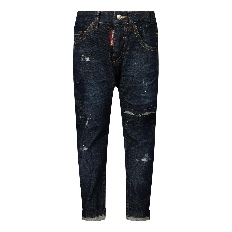 Afbeelding van Dsquared2 DQ01TC D005K babybroekje jeans