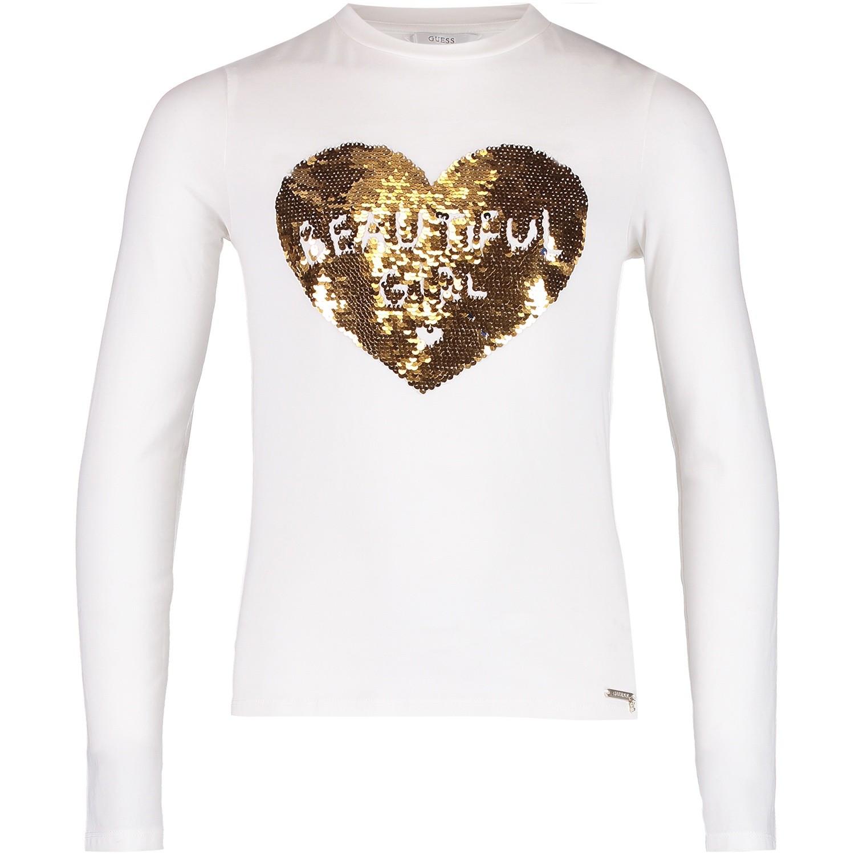 Afbeelding van Guess J84I21 kinder t-shirt off white
