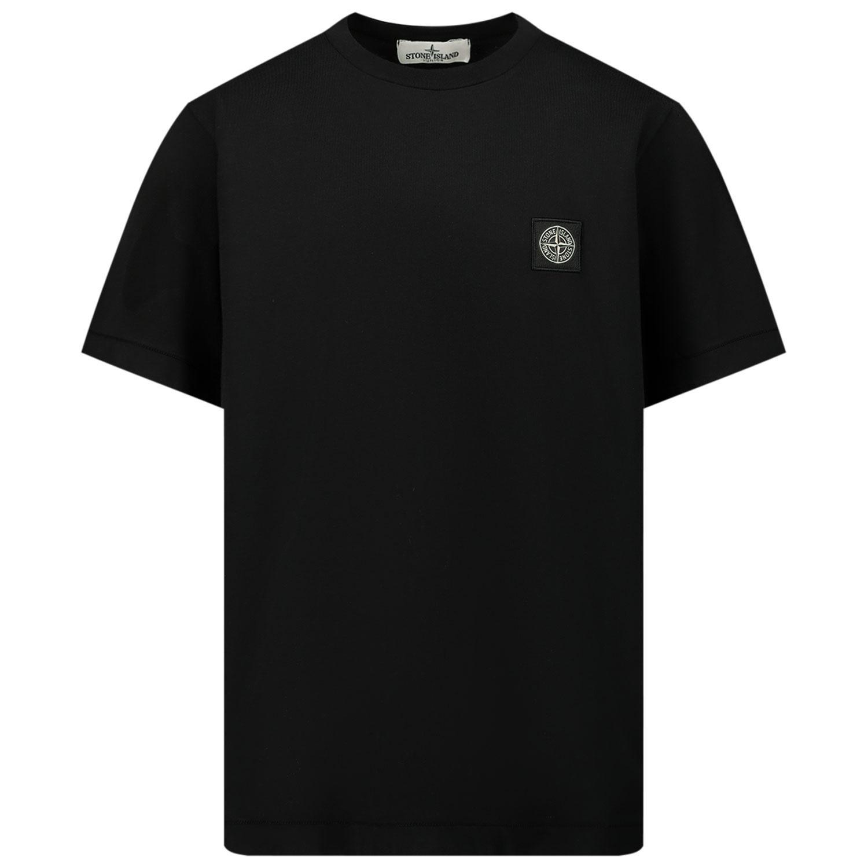 Afbeelding van Stone Island 20147 kinder t-shirt zwart
