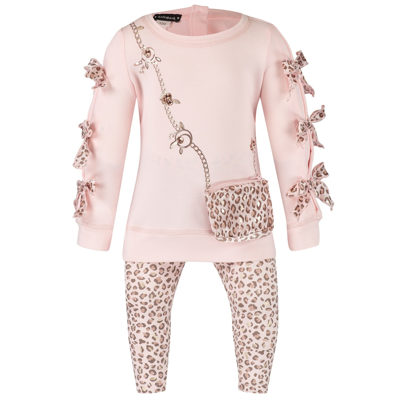 Afbeelding van Kate Mack 520B baby jurkje licht roze