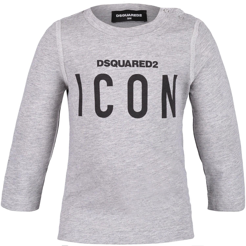Afbeelding van Dsquared2 DQ031Q baby t-shirt grijs