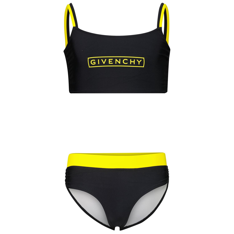 Afbeelding van Givenchy H10036 kinder zwemkleding zwart