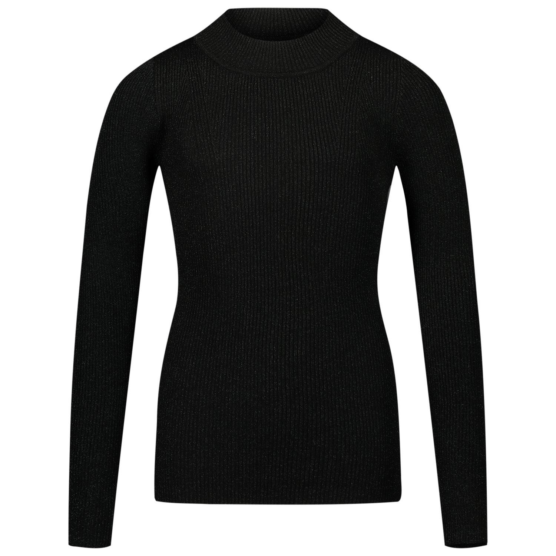 Afbeelding van Jacky Girls JGFW20086 kinder t-shirt zwart