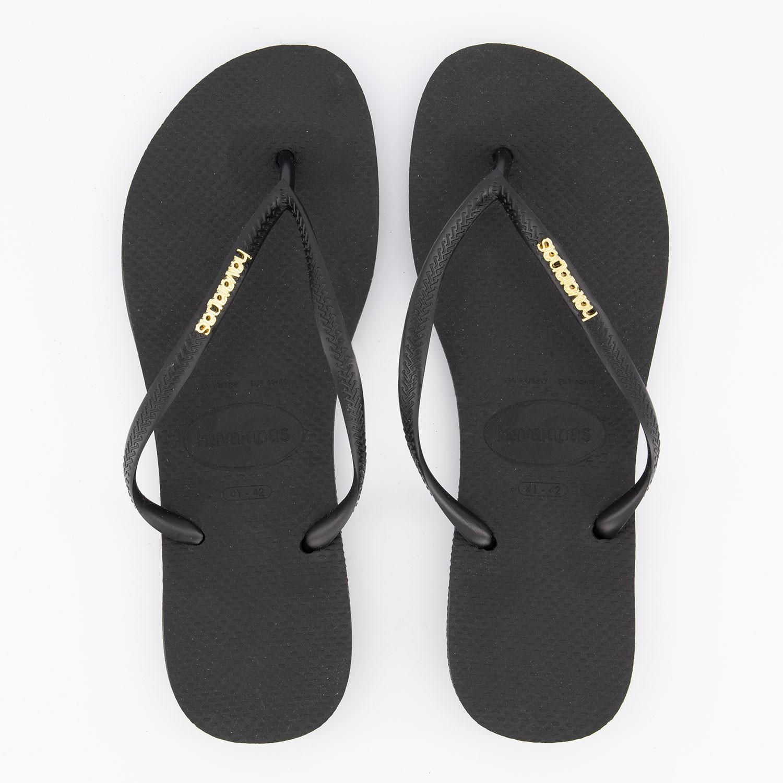 Afbeelding van Havaianas 4119875 dames slippers zwart