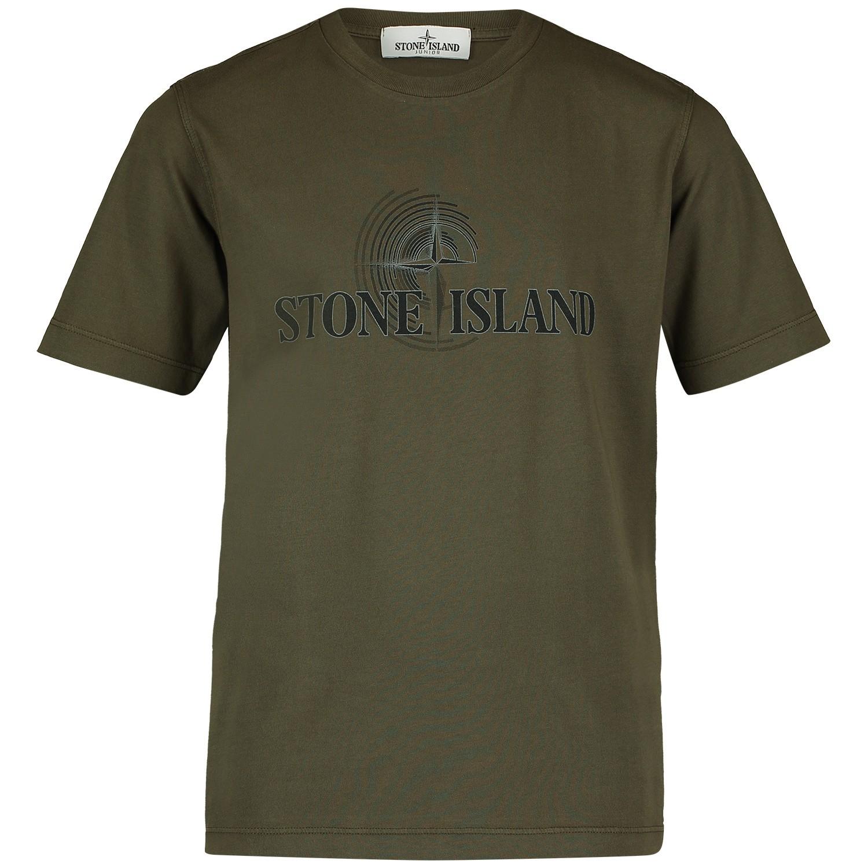 Afbeelding van Stone Island 701621455 kinder t-shirt army
