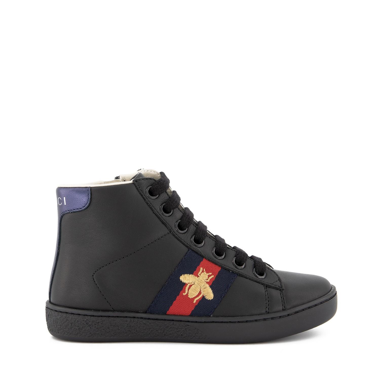 Afbeelding van Gucci 526167 kindersneakers zwart