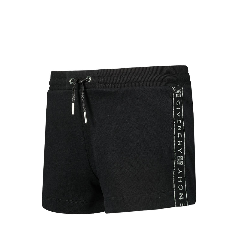 Afbeelding van Givenchy H14077 kinder shorts zwart