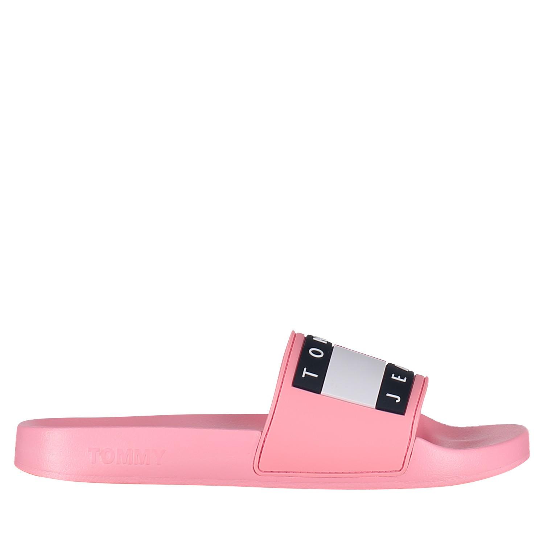 Afbeelding van Tommy Hilfiger EN0EN00474 dames slippers roze