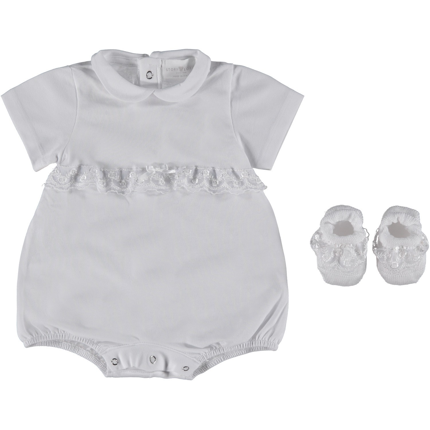 Picture of Story Loris 21959 baby set white