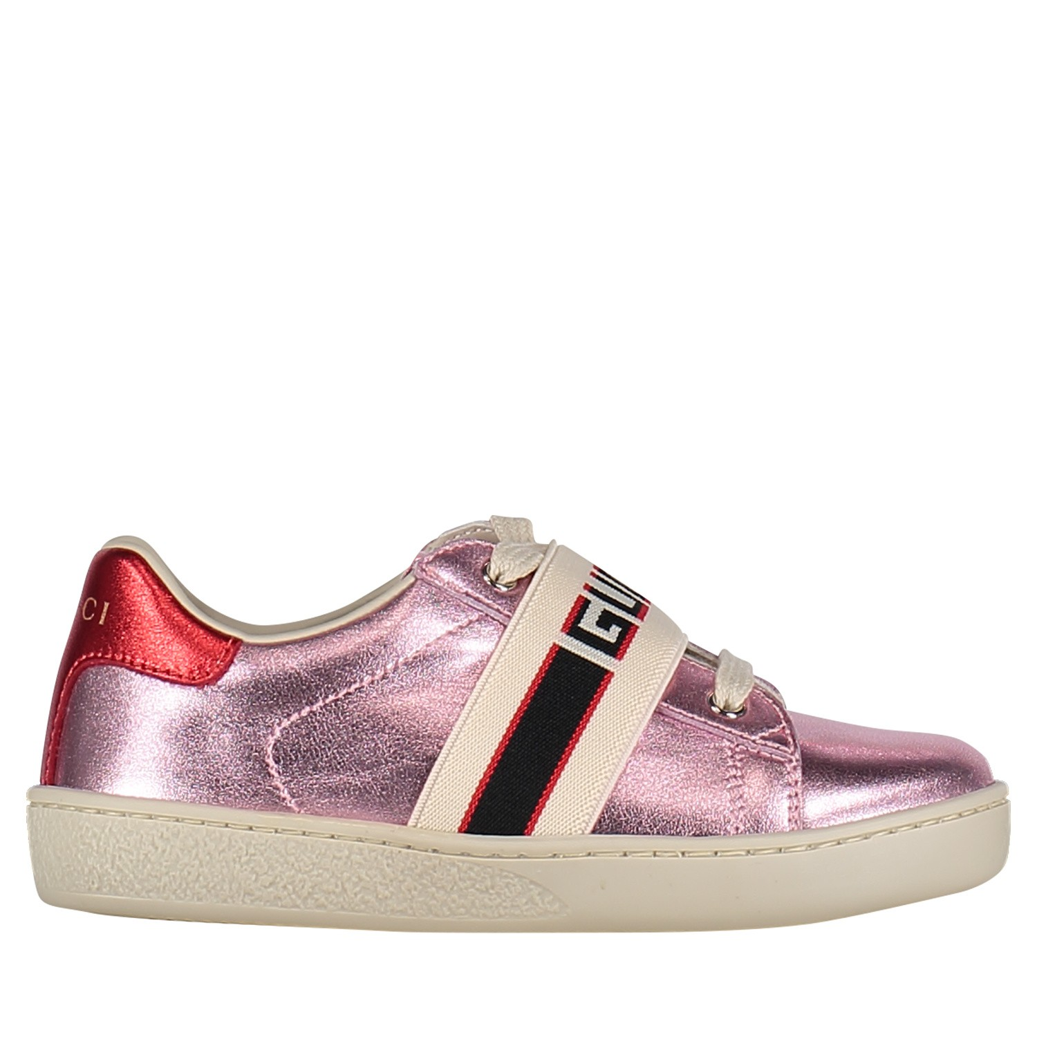 a9a4a676107 Afbeelding van Gucci 552940 kindersneakers licht roze