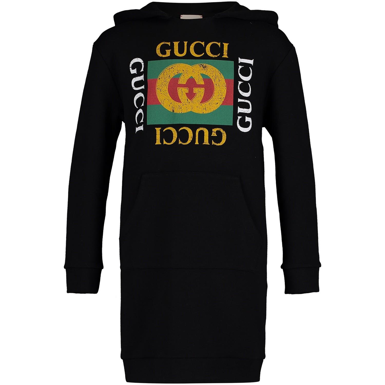 Afbeelding van Gucci 532788 kinderjurk zwart