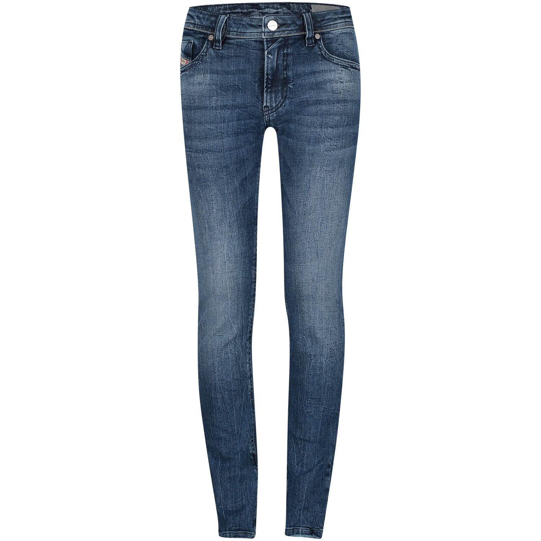 Afbeelding van Diesel 00J3RN KXA97 kinderbroek jeans