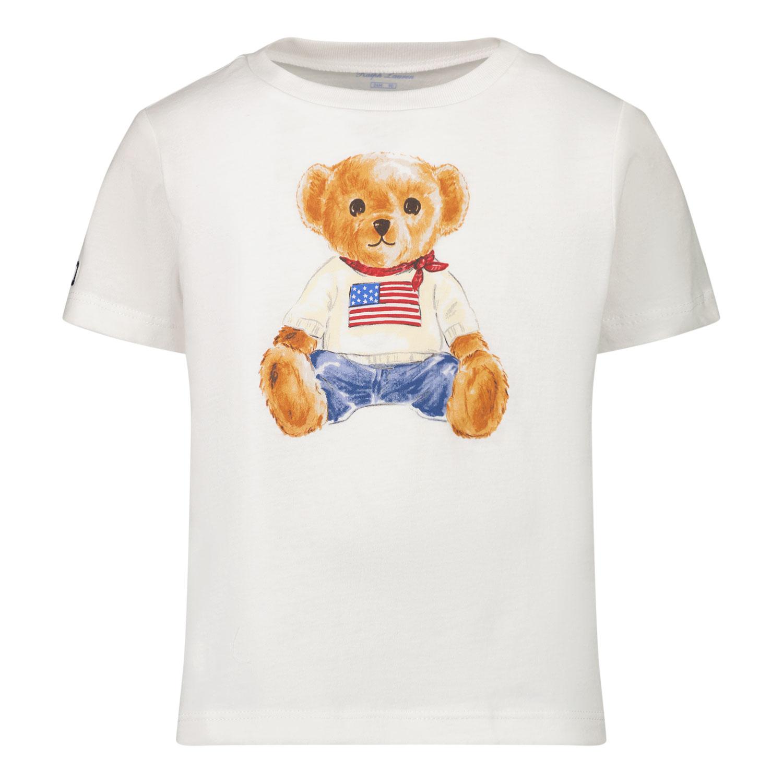 Afbeelding van Ralph Lauren 320746618 baby t-shirt wit