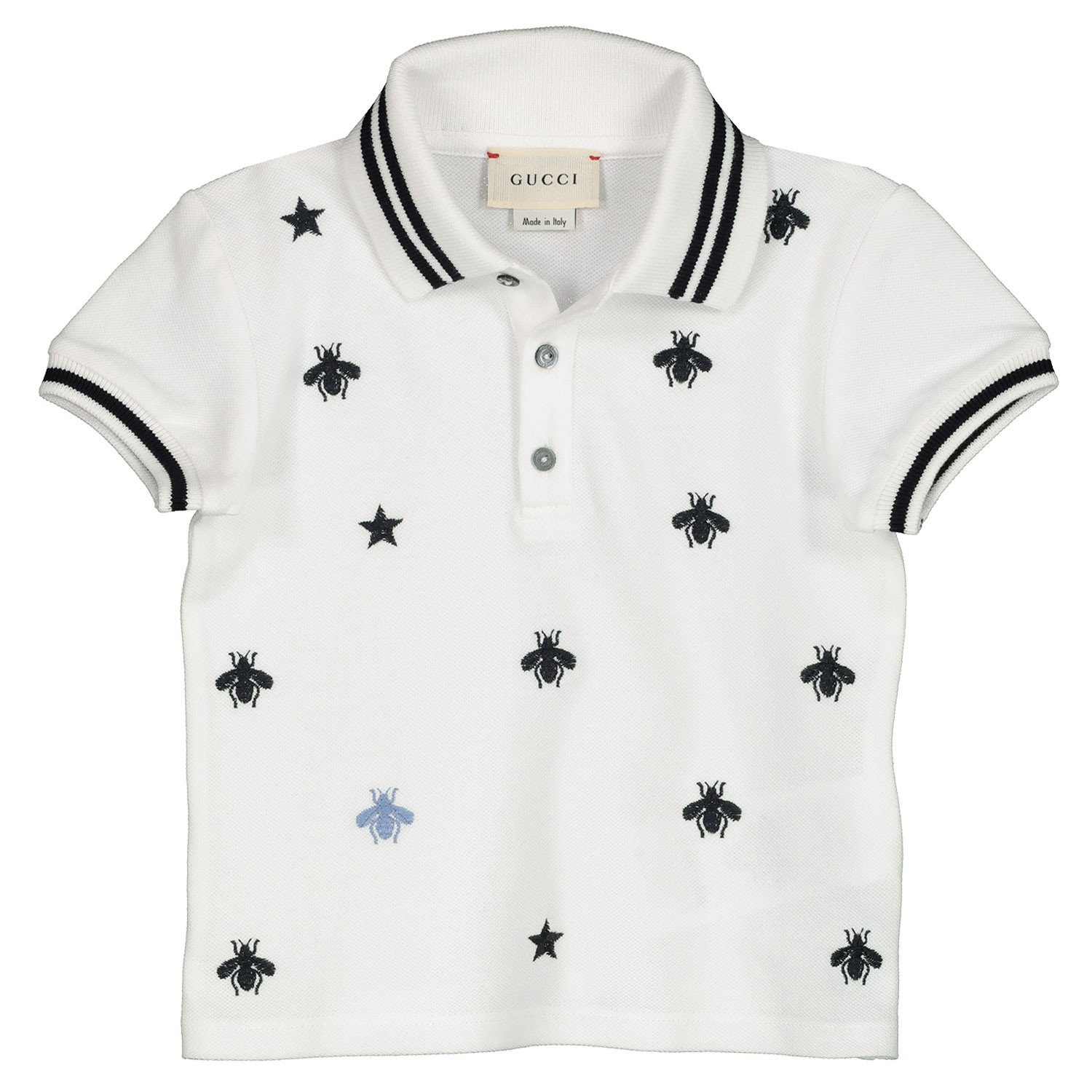 Afbeelding van Gucci 540790 baby polo wit