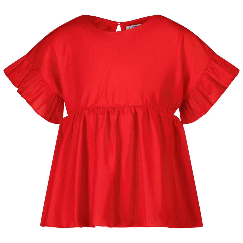Afbeelding van Mayoral 3194 kinder overhemd rood