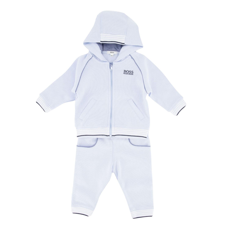 Afbeelding van Boss J98256 baby joggingpak licht blauw