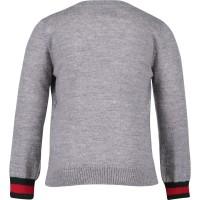 Picture of Gucci 418776 pullover grijs