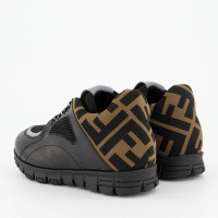 Picture of Fendi JMR288 kids sneakers black