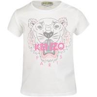 Afbeelding van Kenzo KN10168BB baby t-shirt wit