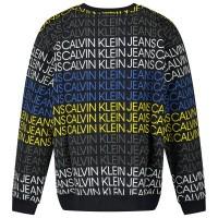 Afbeelding van Calvin Klein IB0IB000548 kindertrui zwart/army