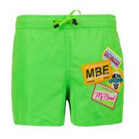 Afbeelding van My Brand 3X21009C0010 kinder zwemkleding fluor groen