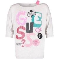 Afbeelding van Guess J83I11 kinder t-shirt grijs