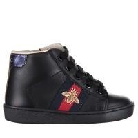 Afbeelding van Gucci 526166 kindersneakers zwart