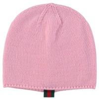 Afbeelding van Gucci 473567 baby mutsje roze