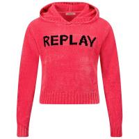 Afbeelding van Replay SG5321 050 kindertrui fluor roze