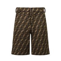 Afbeelding van Fendi JMF315 A6A6 kinder shorts bruin