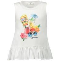 Afbeelding van MonnaLisa 115644PM kinder t-shirt wit