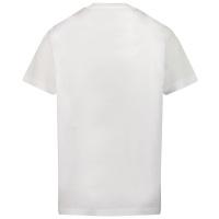 Afbeelding van Dsquared2 DQ0289 kinder t-shirt wit