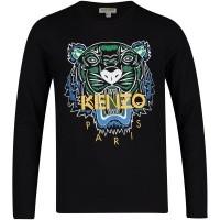 Afbeelding van Kenzo KM10538 kinder t-shirt zwart