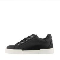 Afbeelding van Dolce & Gabbana DA0724 A3444 kindersneakers zwart