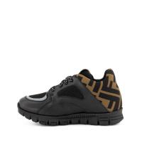 Afbeelding van Fendi JMR334 A8CJ kindersneakers zwart