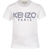 Afbeelding van Kenzo KN10577 baby t-shirt wit
