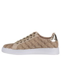 Picture of Guess FL5BC2FAL12 womens sneakers beige
