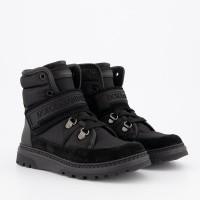 Afbeelding van Dolce & Gabbana DA0732 kinderlaarzen zwart